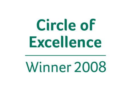 Sage Circle of Excellence Winner 2008