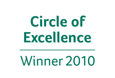 Sage Circle of Excellence Winner 2010