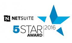 NetSuite 5 Star 2016