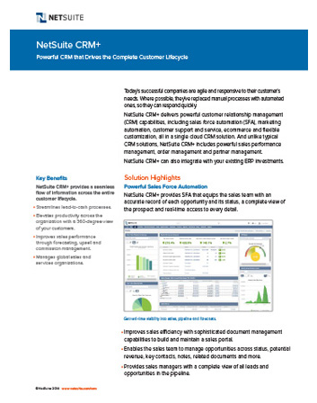 Marketing Automation Datasheet
