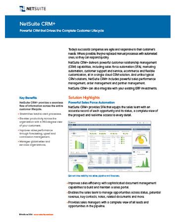 Partner Relationship Management Datasheet