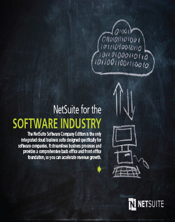 NetSuite for the Software Industry ebook