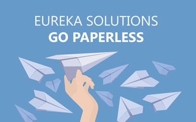 Eureka Solutions are going paperless