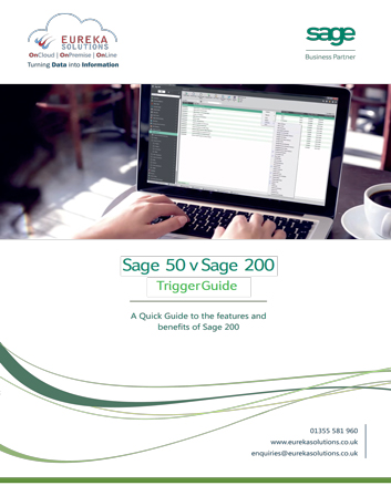 Sage 50 To Sage 200 Trigger Guide