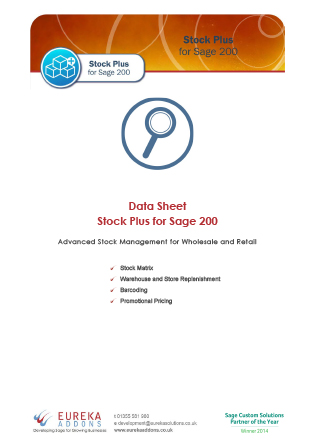 Stock Plus Data Sheet