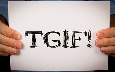 Thank Goodness It's Friday