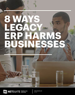 8 Ways Outdated ERP Damages Your Business
