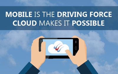 Mobile is the driving force, cloud makes it possible