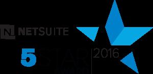 Netsuite 5 Star Award Award