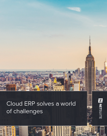 Cloud ERP Solves a World of Problems
