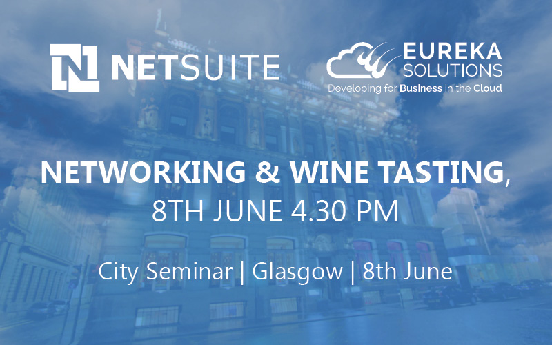 Join Eureka Solutions for a Networking Wine Tasting Event