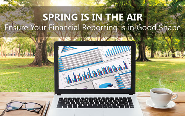 Spring Is In The Air – Ensure Your Financial Reporting Is In Good Shape