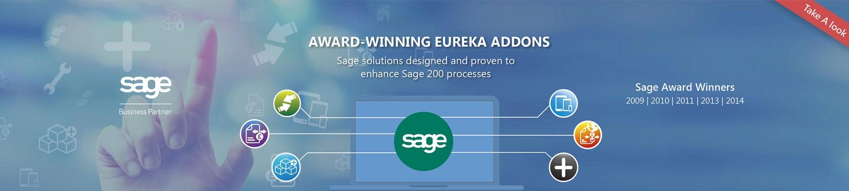Eureka Addons for Sage 200