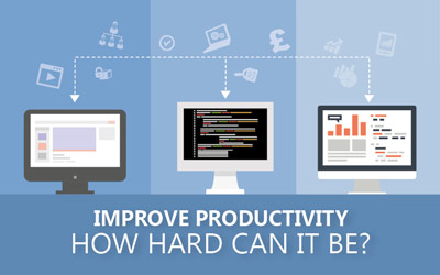 Improve Productivity – How Hard Can It Be?