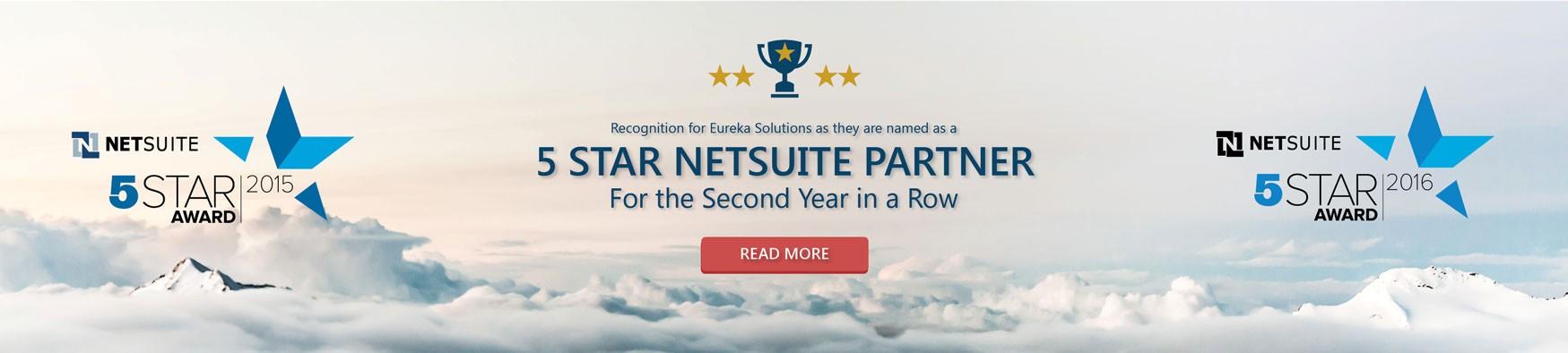 NetSuite 5 Star Partner