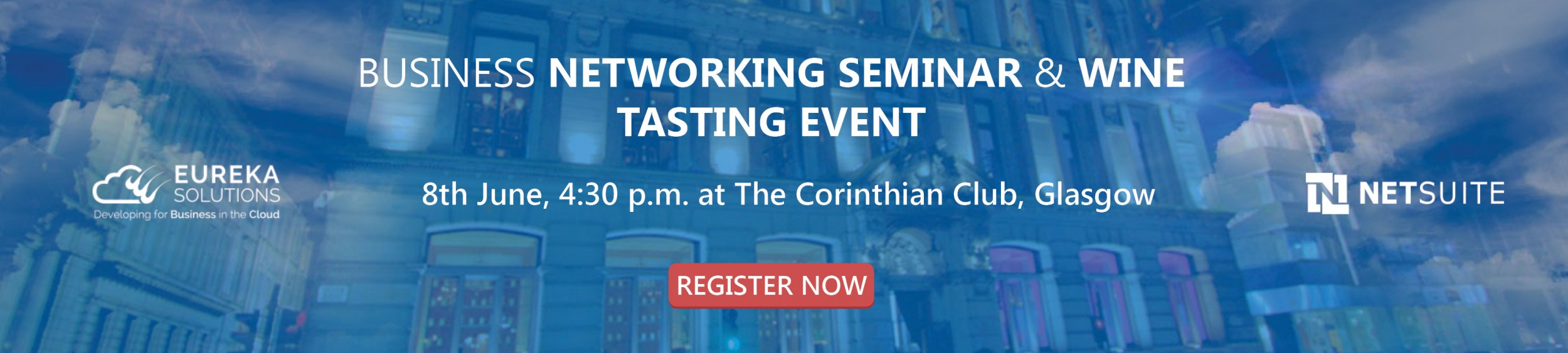 NetSuite Cloud Business Networking and Wine Tasting Seminar