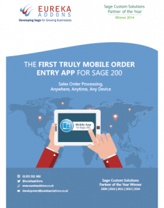 Mobile App for Sage 200 Whitepaper