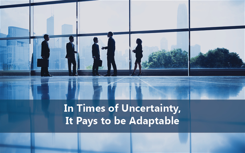 In Times of Uncertainty, It Pays to be Adaptable