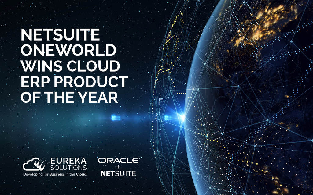 NetSuite OneWorld Awarded 'Cloud ERP Product of the Year'