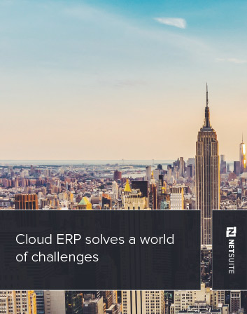 Cloud ERP Solves a World of Challenges Whitepaper