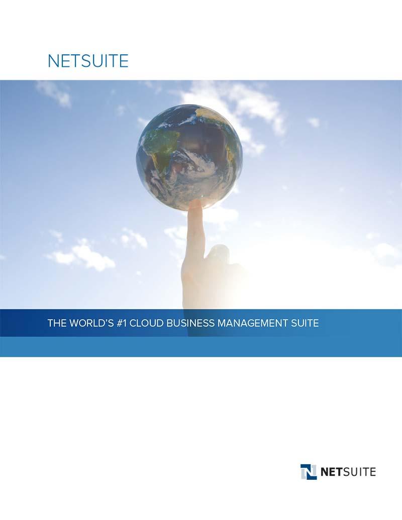 NetSuite ERP Brochure