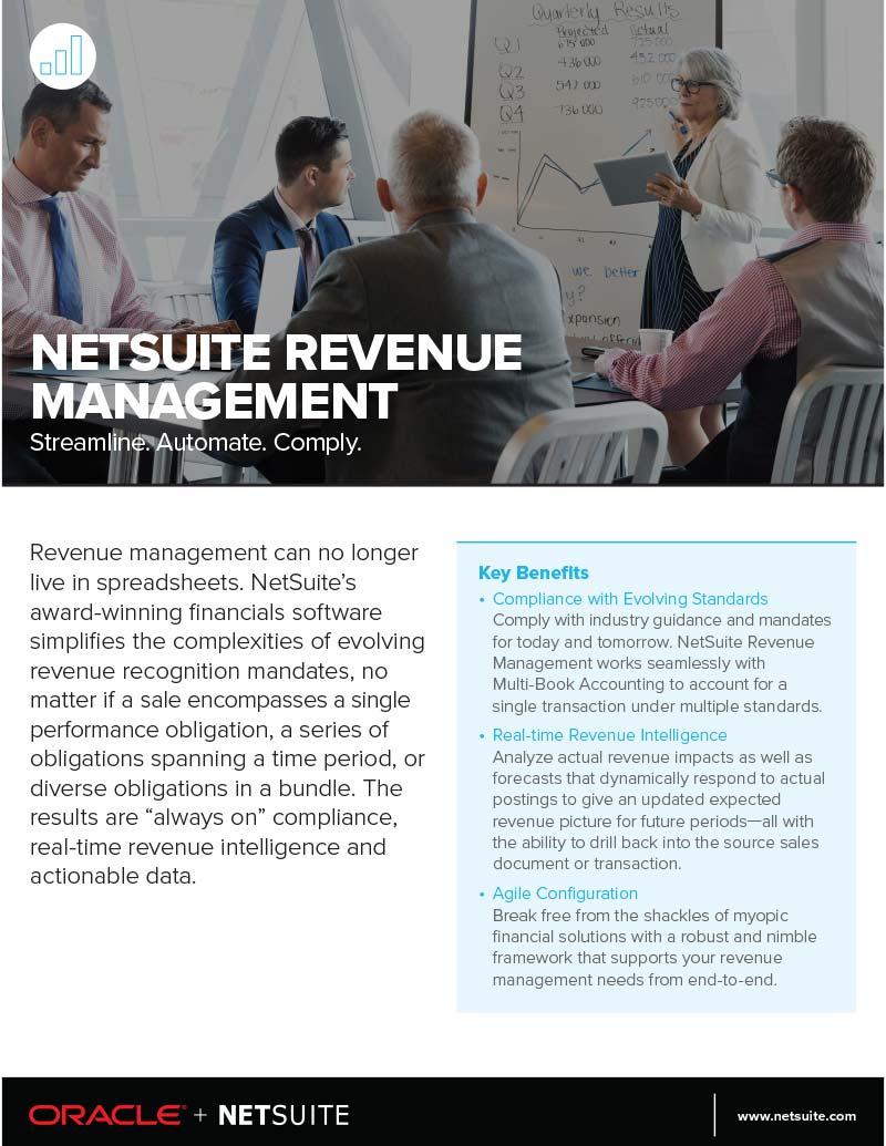 NetSuite ERP Revenue Recognition Module