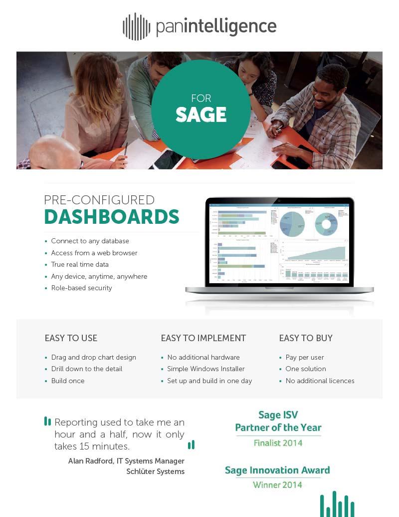 Panintelligence for Sage 200 Factsheet