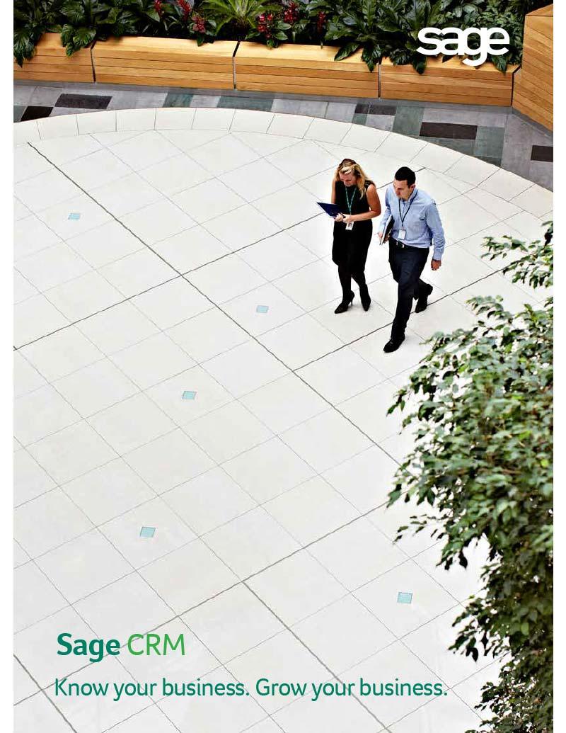 Sage CRM Customer Relationship Management Software Sage