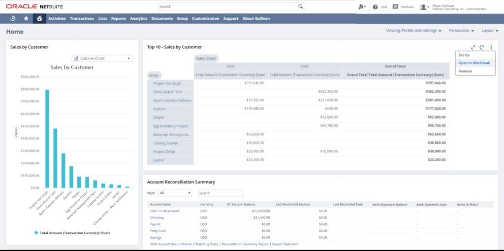 NetSuite 2019.2 SuiteAnalytics